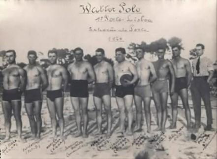 Equipa de polo aquático do CSNA, 1926