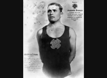 António Branco, nadador do CSNA