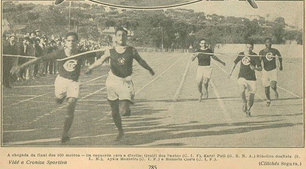 Final dos 100 metros, 1923, Provas nacionais organizadas pelo Sport Lisboa e Benfica
