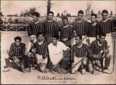 """""""Equipe"""" de Hóquei em Campo, 1927"""