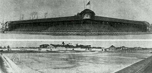 Vista do campo do Ameal, década de 1920