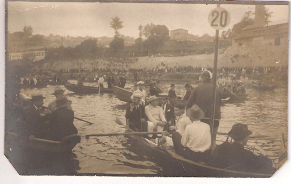 Provas no Rio Douro, década de 1920